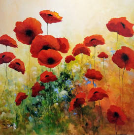 Eric BRUNI - Poppies Ephemeral