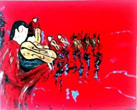 Jean Claude GIANGRECO - LE VIOLONISTE ROUGE BIG