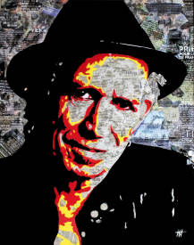 Jean Jacques VENTURINI - Keith Richards Paper:3.jpg