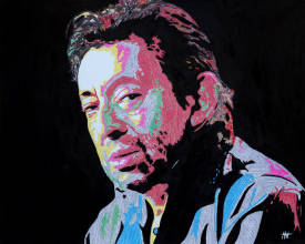 "Jean Jacques VENTURINI - Gainsbourg paper:1. -"" Newspaper'art"""