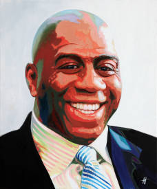 Jean Jacques VENTURINI - Magic Johnson.