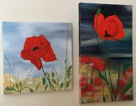 Nadia VUILLAUME - COQUELICOTS 1 & 2