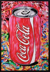 ZOULLIART - PopArt Coca Cola Rouge.jpg