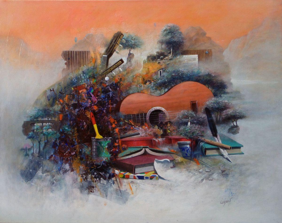 Sylvain loisant grand est vosges indice de cotation des for Artiste peintre poitiers